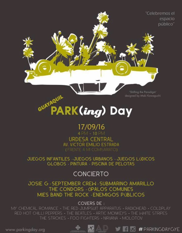 PARK(ing) Day Guayaquil 2016